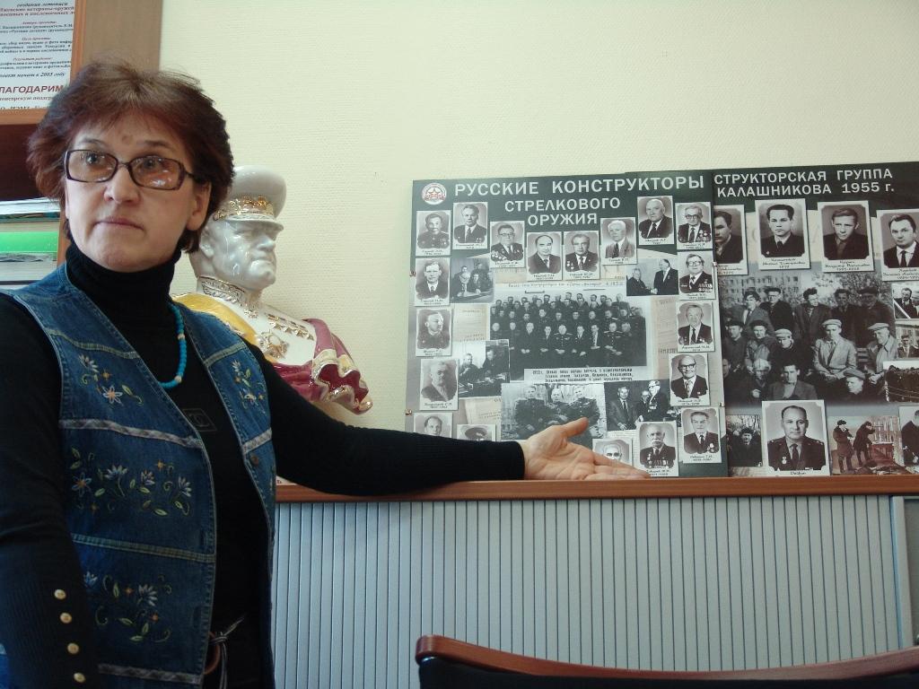Елена Калашникова — дочь М. Т. Калашникова. Фото из архива газеты «День»