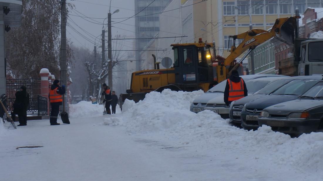 На ул. Горького. Фото: «ДЕНЬ.org»
