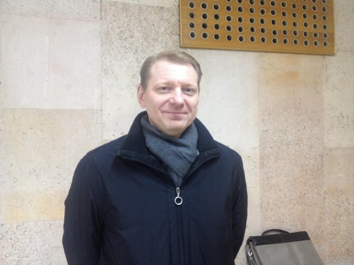 Владимир Разумков по окончании встречи выглядел гораздо бодрее. Фото: © «ДЕНЬ.org»