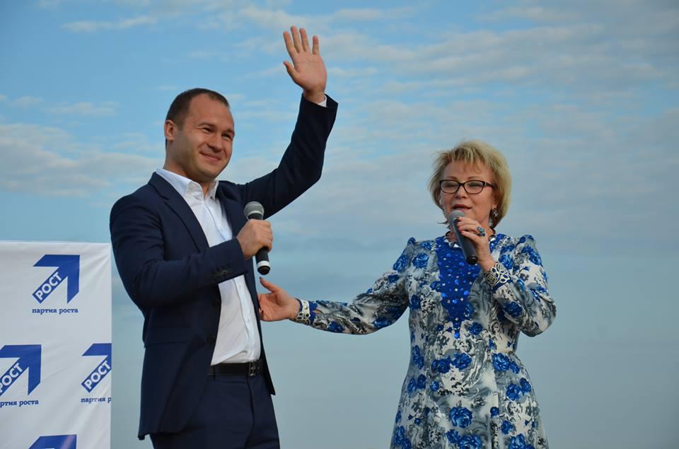 Алексей Чулкин и Валентина Пудова. Фото: facebook.com