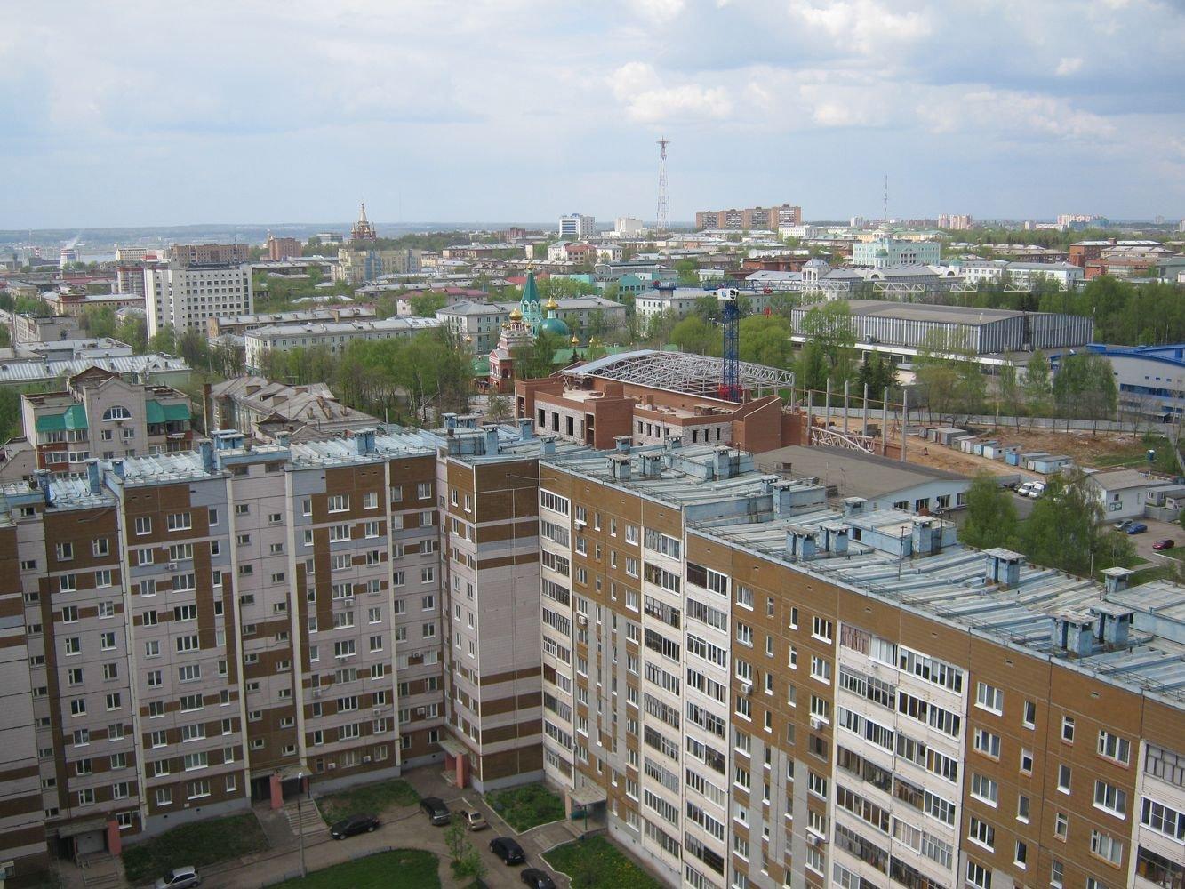 Строящийся бассейн в Ижевске. Фото ©День.org