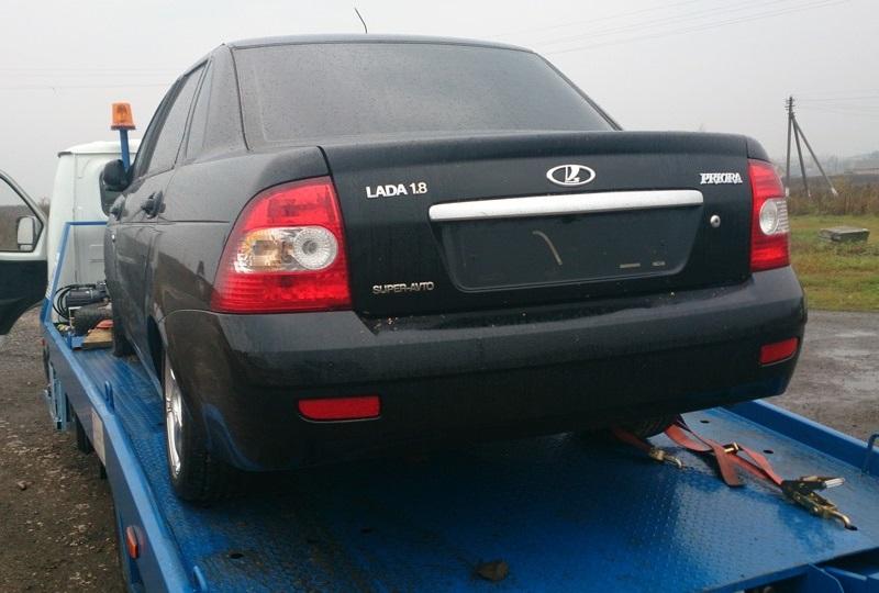 Судебные приставы Удмуртии ввиде клиентов изъяли удолжника авто