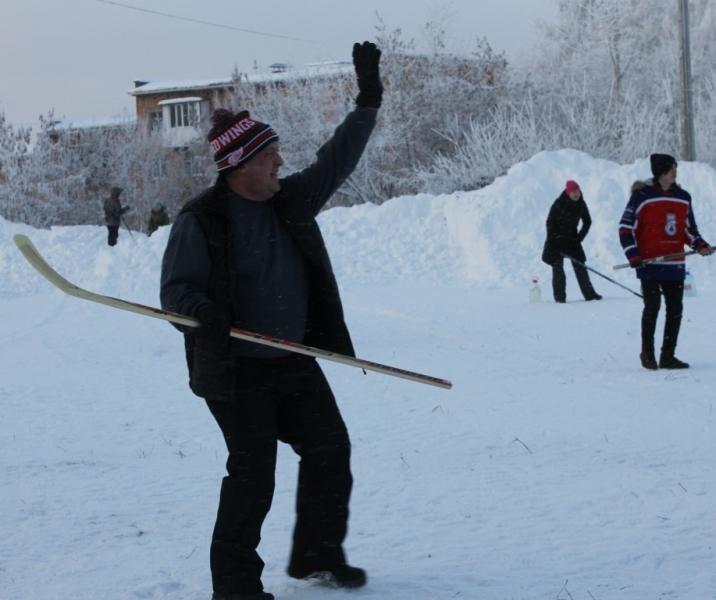 Гол! На фото: депутат Гордумы Ижевска Дмитрий Чистяков. Фото: © «ДЕНЬ.org»