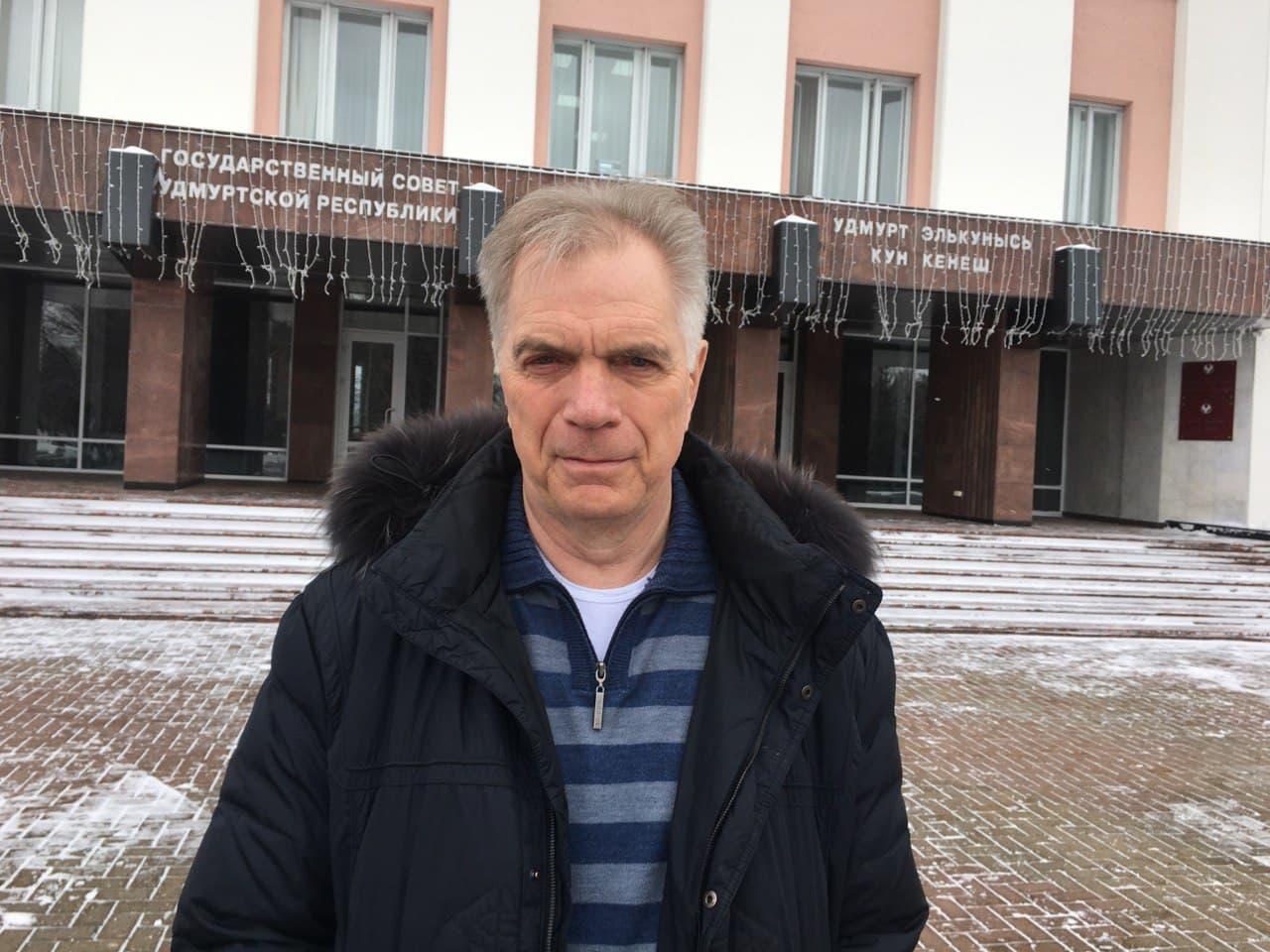 Председатель Государственного контрольного комитета УР Борис Сарнаев