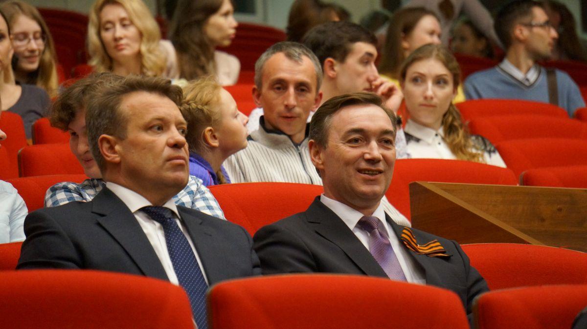 Игорь Краснов и Андрей Кузнецов. Фото: © «ДЕНЬ.org»