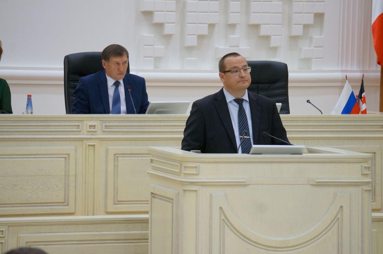 Министр финансов Станислав Евдокимов представил поправки в бюджет. Фото ©День.org