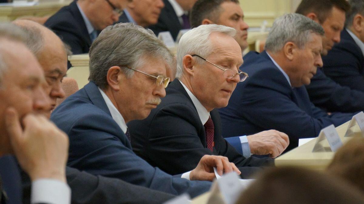 Александр Любимов и Андрей Ураськин. Фото: ©«ДЕНЬ.org»