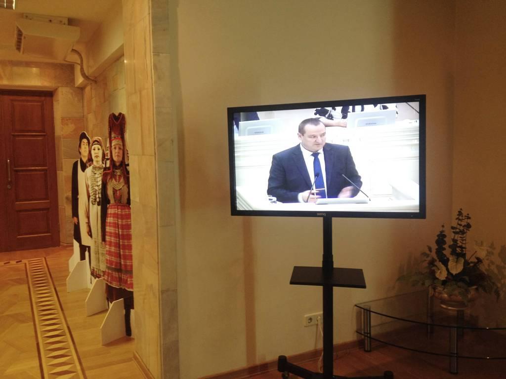 К ток-шоу готовы? Фото: © «ДЕНЬ.org»