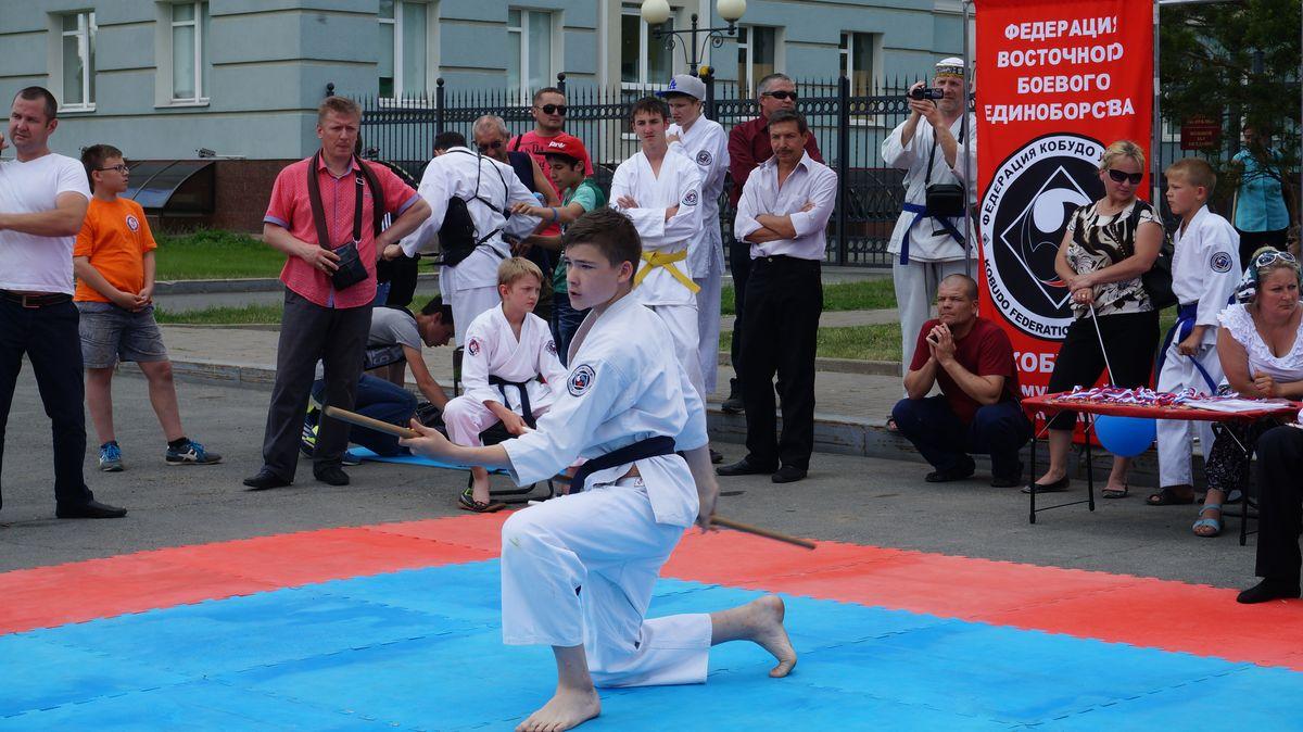 Площадка боевых искусств. Фото: © «ДЕНЬ.org»