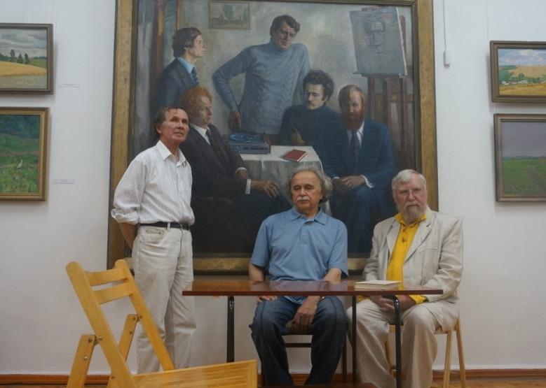 Александр Шкляев, Петр Ёлкин и Владимир Владыкин. Фото: ©«ДЕНЬ.org»