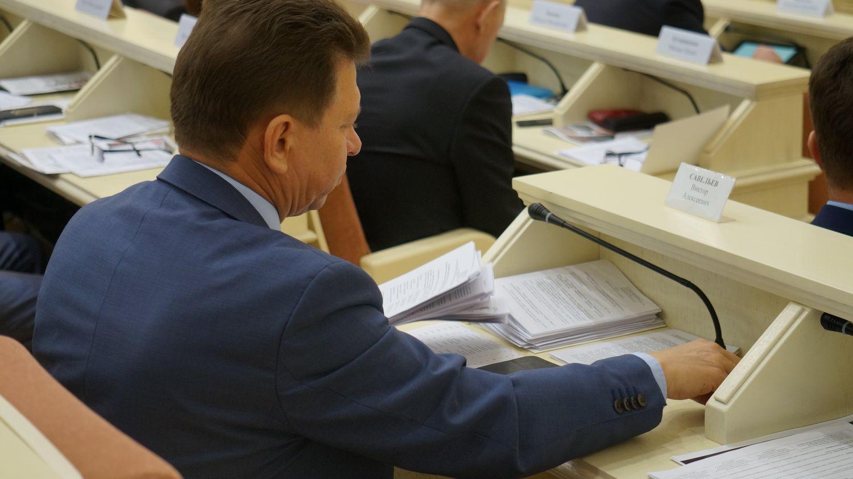 Премьер правительства Удмуртии Виктор Савельев. Фото: © «ДЕНЬ.org»