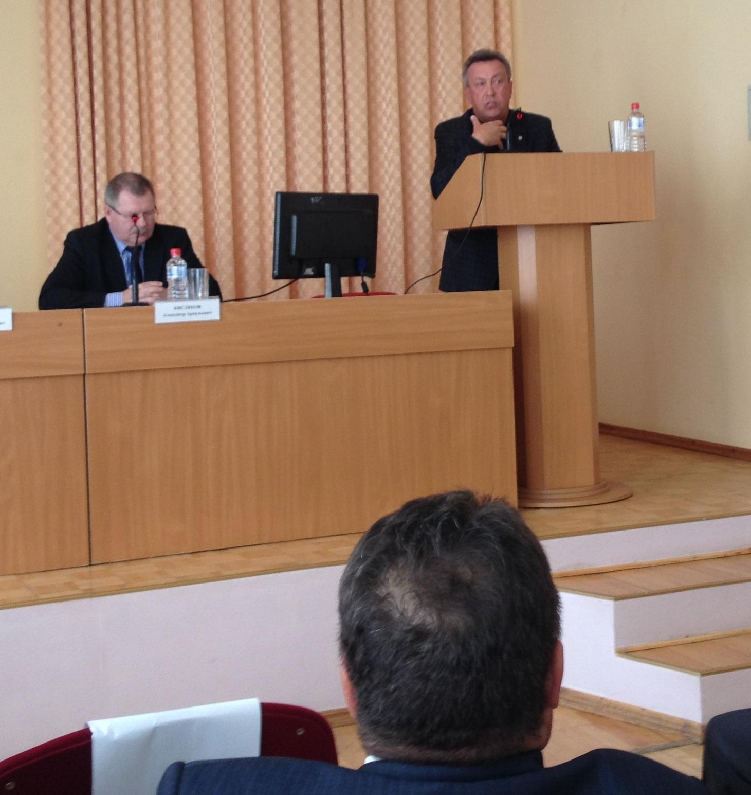Валерий Грахов говорит о том, что наболело. Фото: © «ДЕНЬ.org»