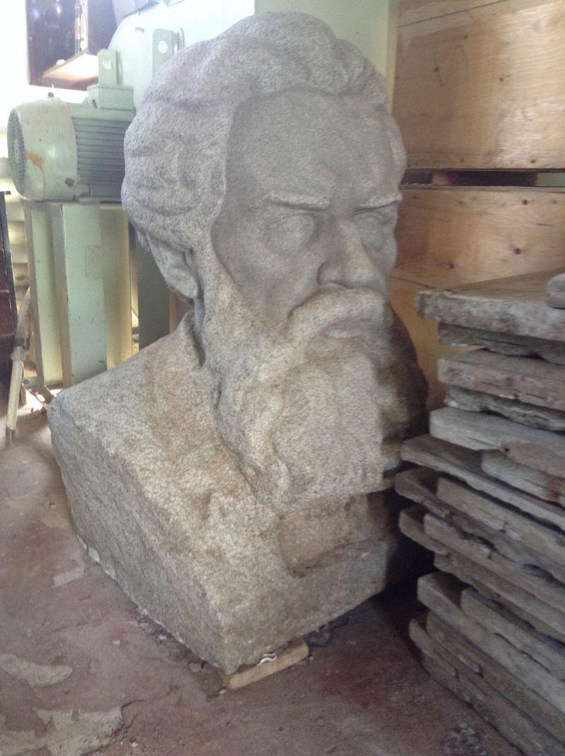Бюст Короленко в запасниках Национального музея. Фото ©«ДЕНЬ.org»