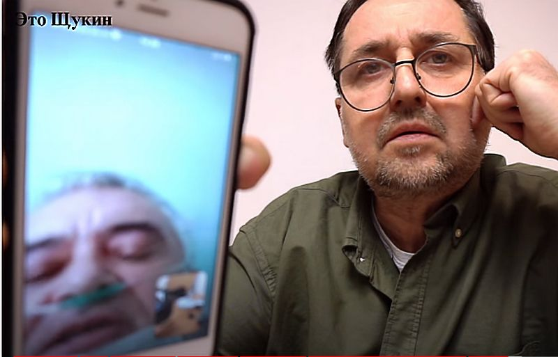 """Видеообращение к Главе УР пациента ковид-центра закончилось для него баном. Скан с ютуб-канала """"Это Щукин""""."""