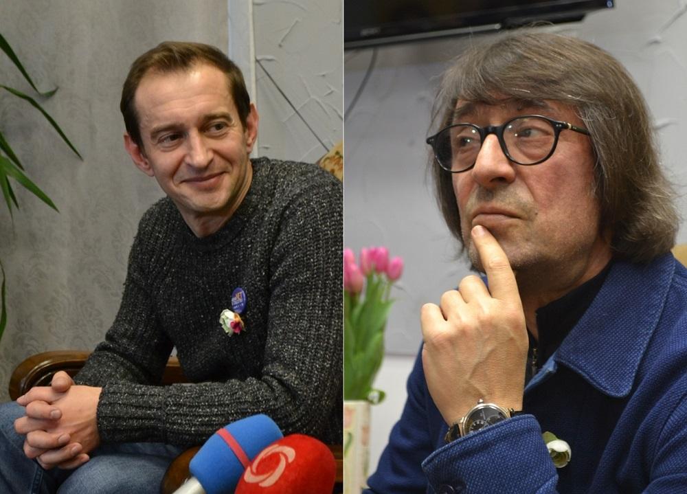 Константин Хабенский и Юрий Башмет. Фото: Александр Поскребышев