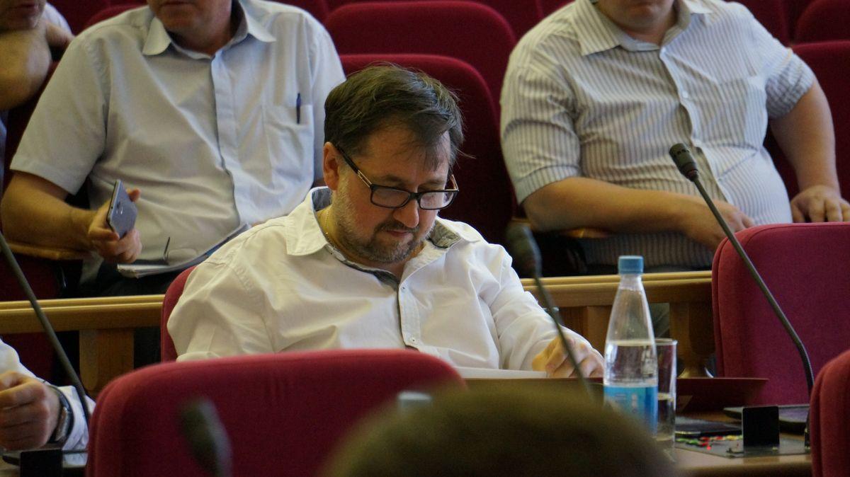 Руководитель фракции «Патриоты России» Сергей Щукин. Фото: «ДЕНЬ.org»