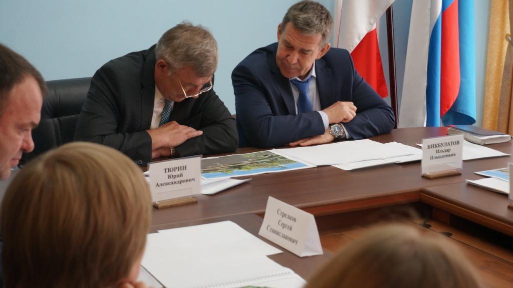 Юрий Тюрин и Ильдар Бикбулатов. Фото: © «ДЕНЬ.org»