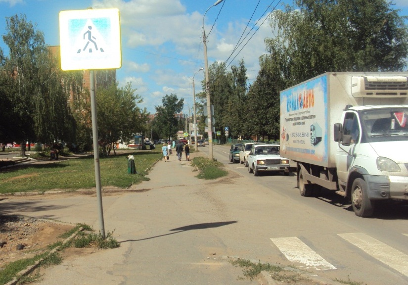 На улице Тимирязева. Фото: © «ДЕНЬ.org»