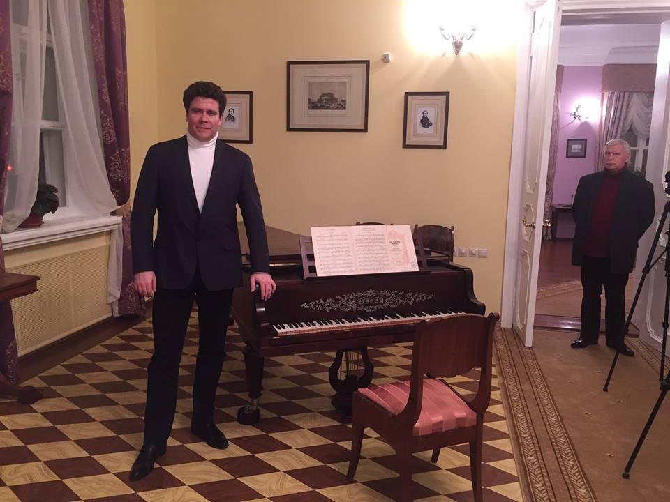 Денис Мацуев в музее-усадьбе Чайковских