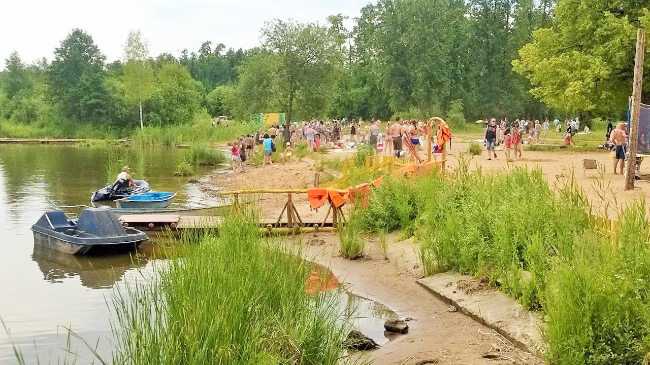 18 июня на Воложке утонул мужчина. Фото: vk.com (ИГГС)