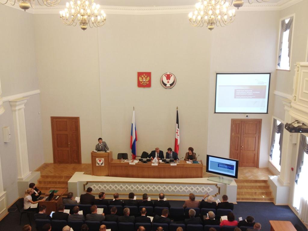 Рафаэль Зайнутдинов рассказал о месте Удмуртии в Национальном рейтинге. Фото ©День.org