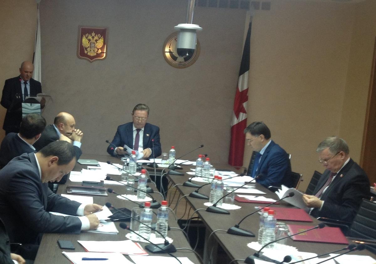 На заседании комиссии присутствовало меньше половины ее участников. Фото: © «ДЕНЬ.org»