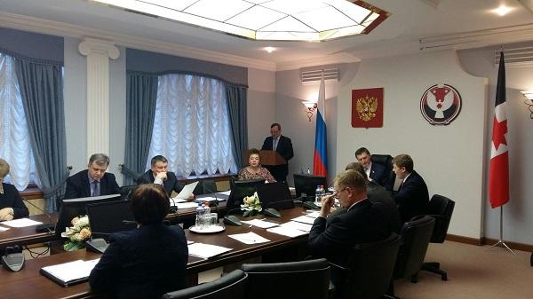Заседание президиума политсовета. Фото: udmurt.er.ru