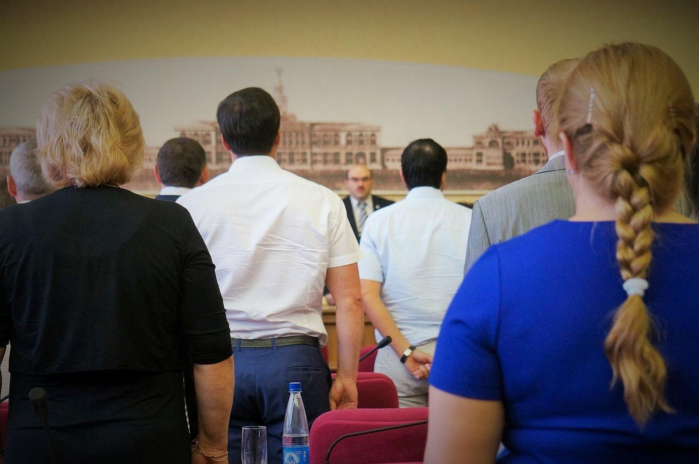 Одна из последних сессии Гордумы Ижевска пятого созыва. Фото ©День.org