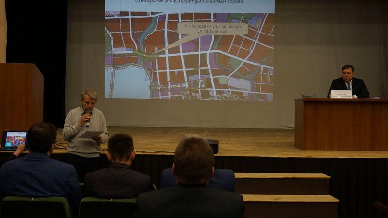 Судя по представленному на слушаниях плану, эту АЗС планируется построить вдалеке от жилых домов. Фото: © «ДЕНЬ.org»