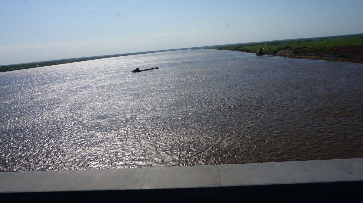 Такой вид открывается с моста на Каму. Фото: © «ДЕНЬ.org»