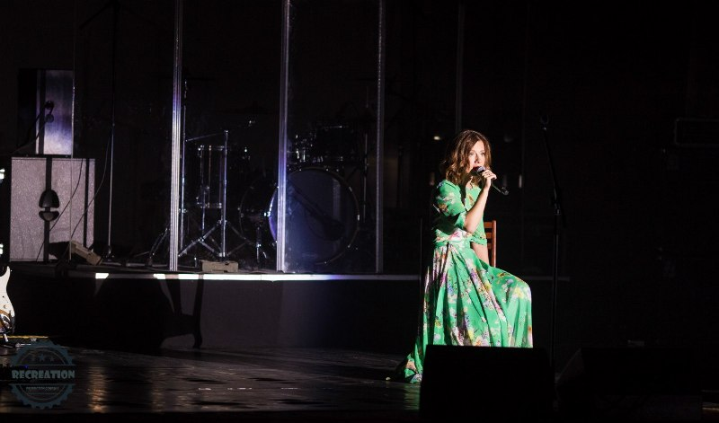 Концерт Юлии Савичевой в Уве. Фото: vk.com
