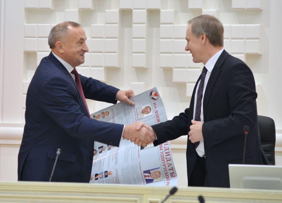 Александр Соловьёв и Виктор Кушко. Фото: udmurt.ru