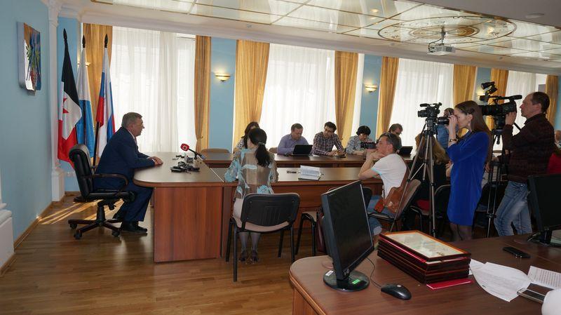 Открытость, по словам Юрия Тюрина, принципиальная позиция нынешней власти. Фото: © «ДЕНЬ.org»