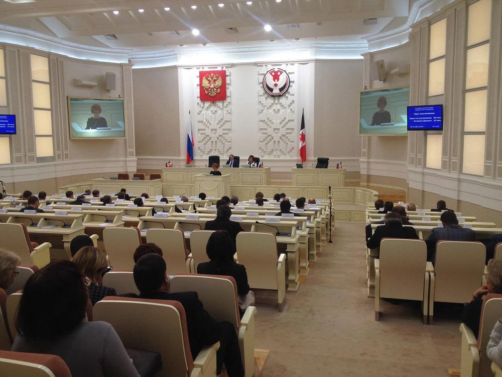 Депутатов на «нулевое» чтение трехлетнего бюджета собралось негусто. Фото: © «ДЕНЬ.org»