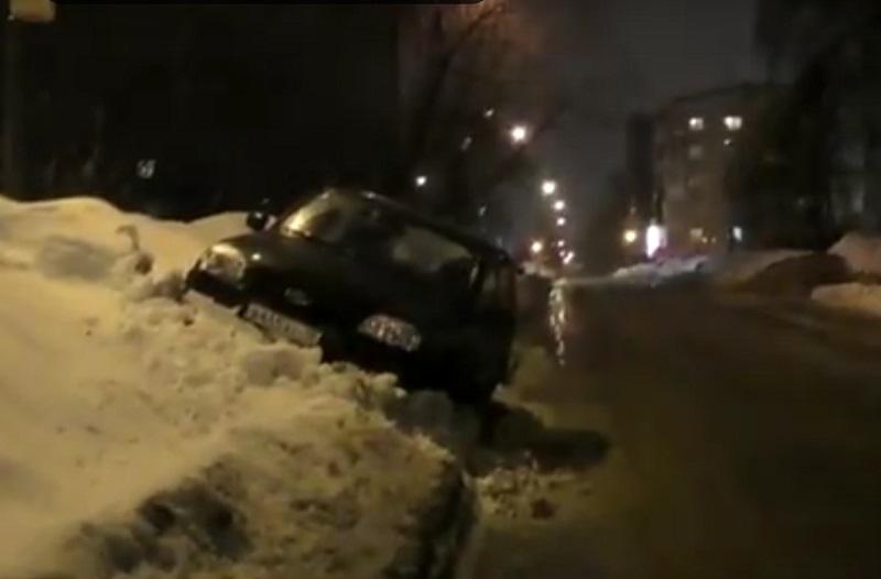 Фото: кадр из видео ДНД «Дорожный патруль»