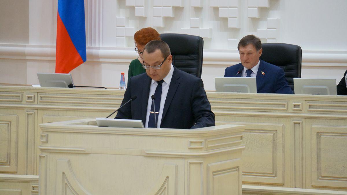 Министр финансов УР Станислав Евдокимов. Фото: © «ДЕНЬ.org»
