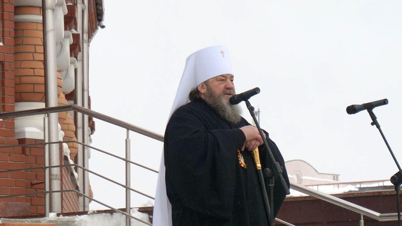 Митрополит Ижевский и Удмуртский Викторин. Фото ©«ДЕНЬ.org»
