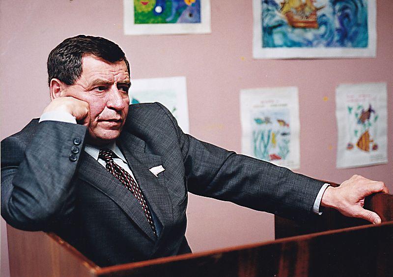 Премьер УР Николай Ганза. Фото: © Архив газеты «День», 2000 г.