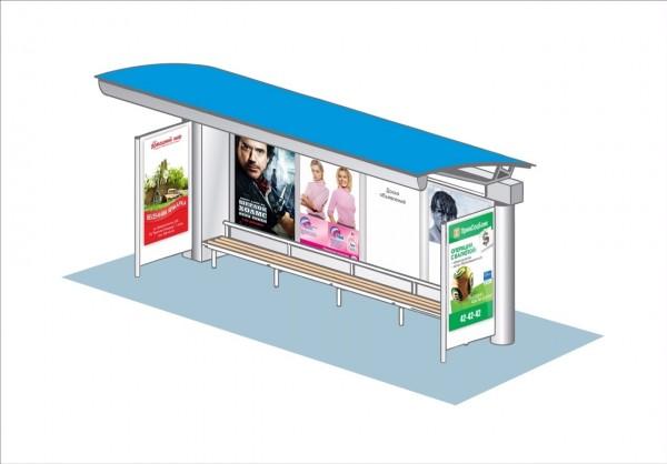 Денис Агашин опубликовал в свое время в своем Живом Журнале новое видение оформления остановок общественного транспорта.