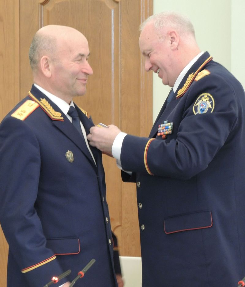Владимир Никешкин и Александр Бастрыкин. Фото ©«ДЕНЬ.org»