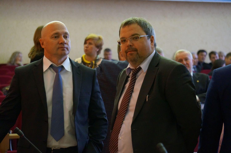 Сергей Климов и Дмитрий Космин. Фото: © «ДЕНЬ.org»