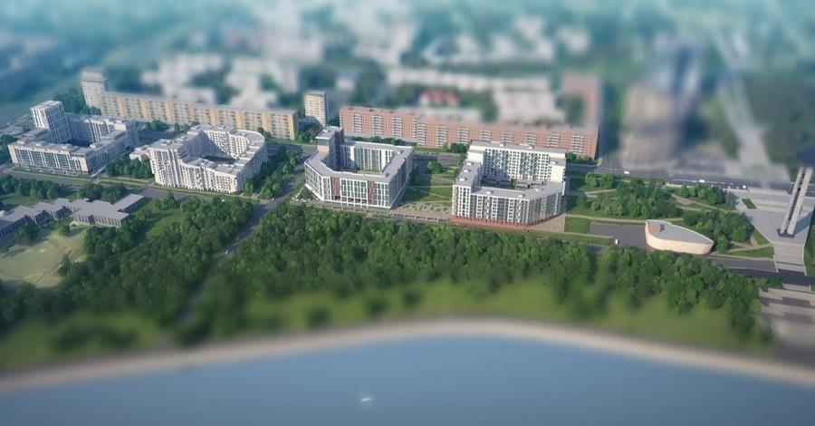 Проект «Ривьера-Парк». Пока только на картинке.