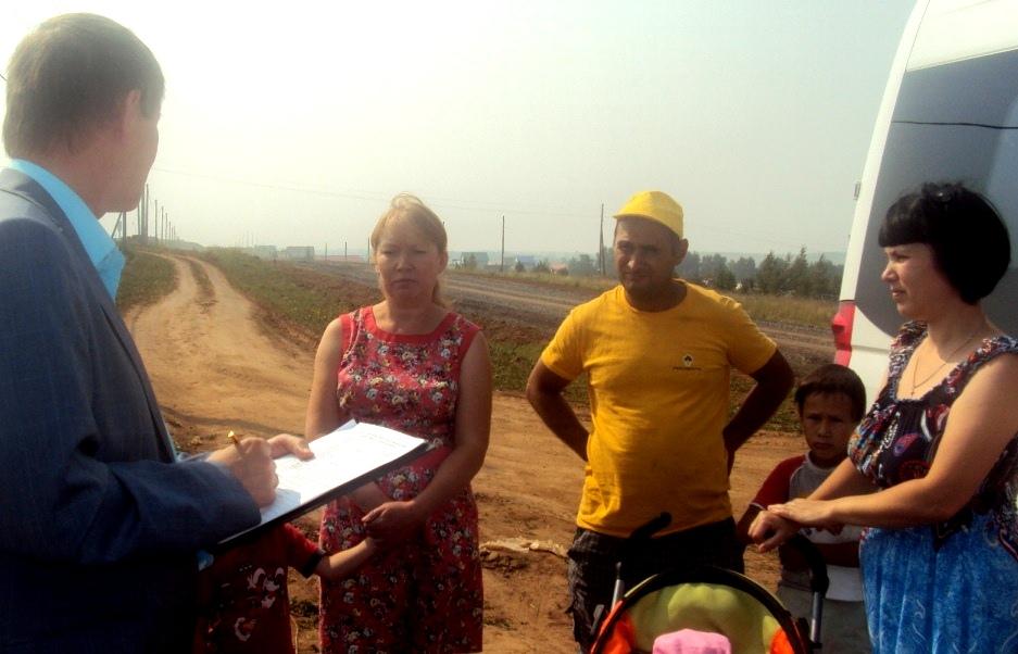 Встреча с жителями Люллей. Фото: «ДЕНЬ.org»