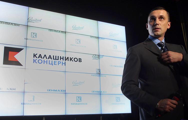 Гендиректор и совладелец концерна «Калашников» Алексей Криворучко. Фото: tass.ru