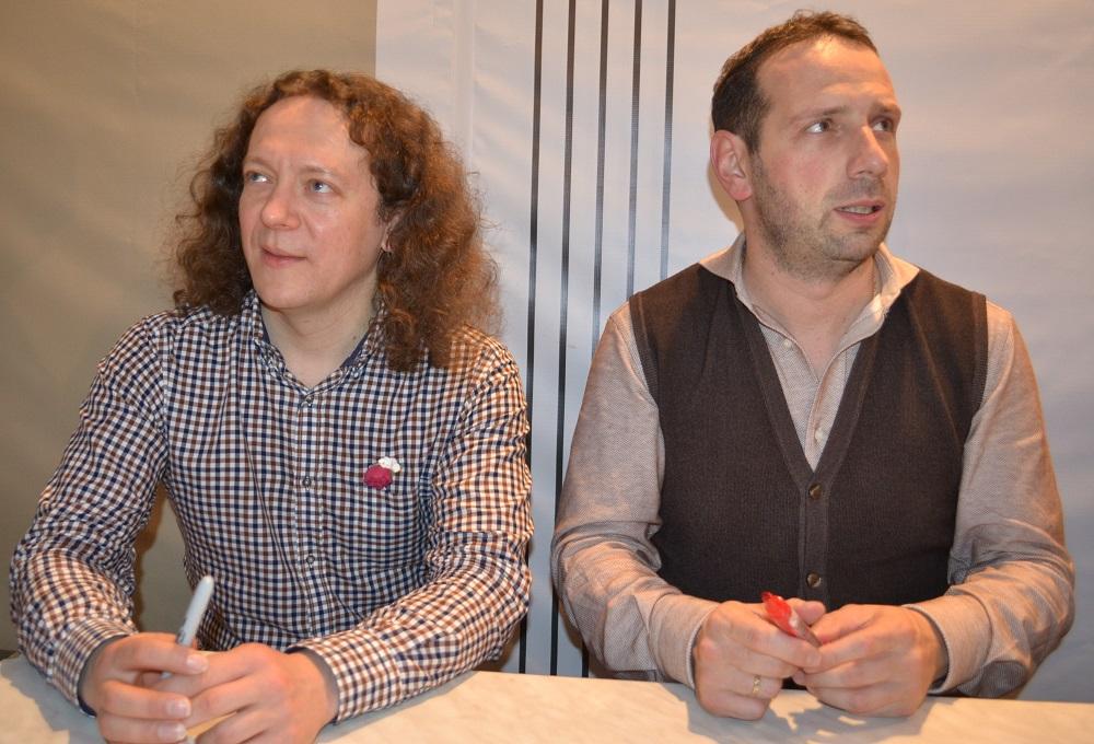 Дмитрий Илларионов и Борис Андрианов. Фото: Александр Поскребышев
