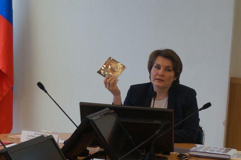 Министр национальной политики Удмуртии Л.Буранова  Фото: ©День.org