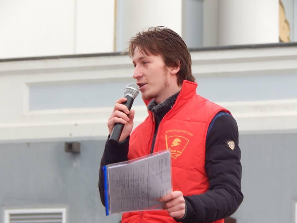 Представители местной организации ЛКСМ поддержали акцию воткинцев. Фото: Ильдар Закиров.