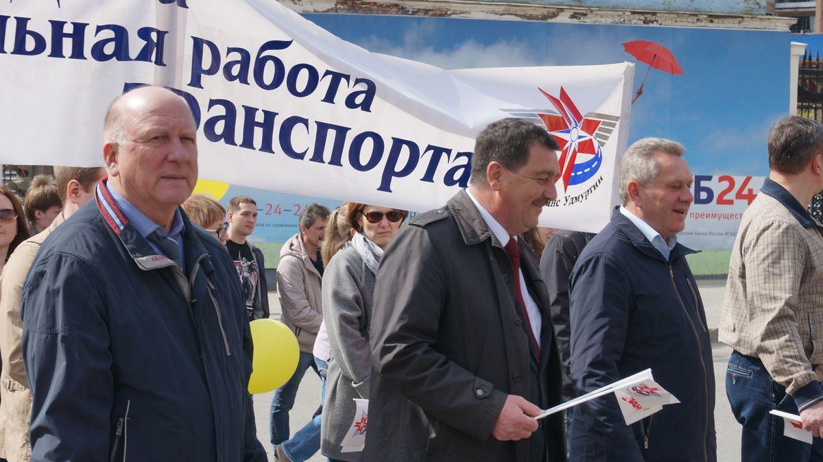 Глава Миндортранса УР Виктор Вахромеев