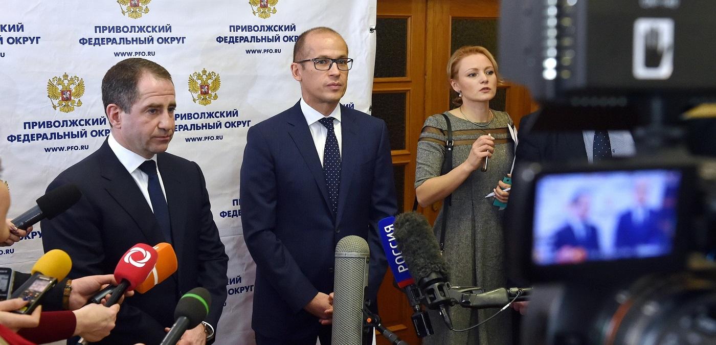 Михаил Бабич и Александр Бречалов. Фото: пресс-службав главы и правительства УР