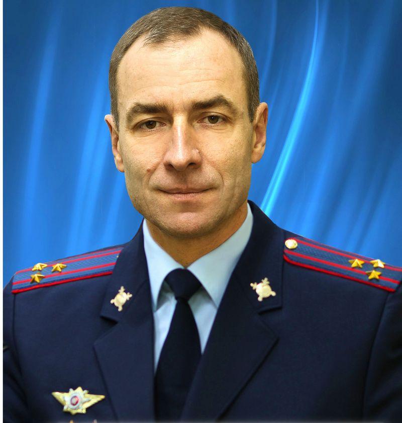 Полковник внутренней службы Сергей Поволоцкий. Фото МВД по УР